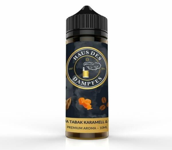 hause_des_dampfes_aromat_10.1690-e1558954377636-600x523 Haus des Dampfes - Virginia Tabak Karamell & Kaffee - 10ml Longfill