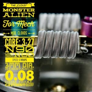 "The_Cloud_Monster_Alien_2_Stueck_by_Tasty_Ohm_Coils-300x300 ""The Cloud"" Monster Alien (2 Stück) by Tasty Ohm Coils"