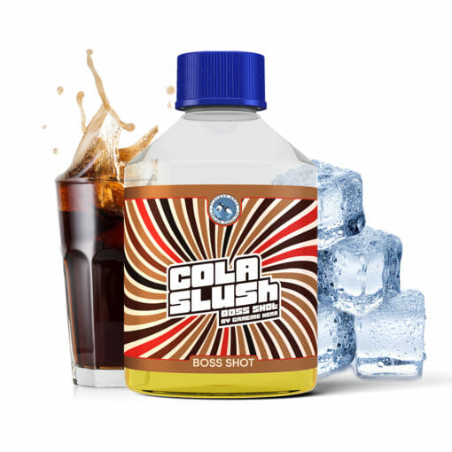 Boss-Cola-Slush FlavourBoss - Cola Slush Boss Shot - 50ml Aroma - 250ml Flasche
