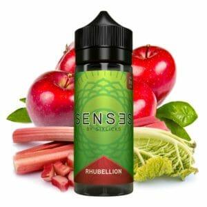 rh-300x300 Sense by Six Licks - Rhubillion - Premium Liquid 0mg Nikotin