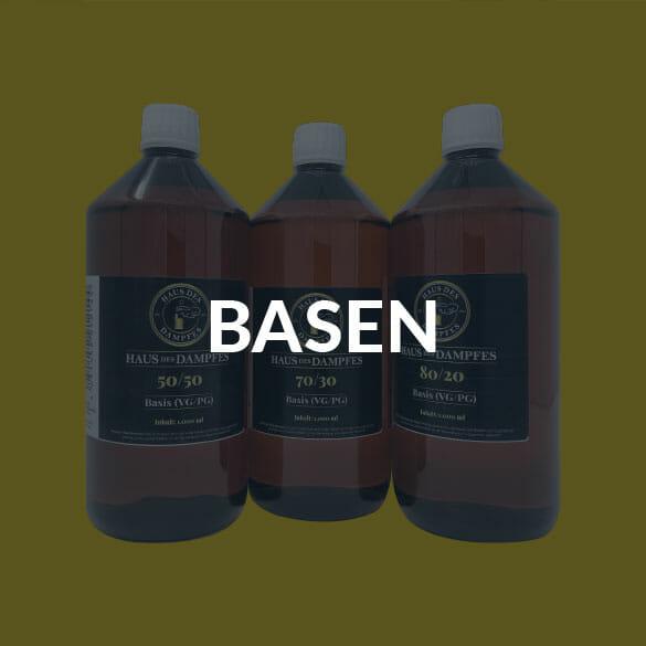 Landingpage-Basen E-Zigaretten & Liquids I Premium Onlineshop Est. 2018
