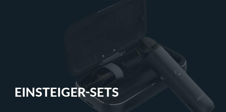 Landingpage-Einsteiger-Sets E-Zigaretten & Liquids I Premium Onlineshop Est. 2018
