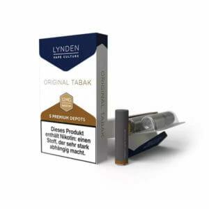 Original-Tabak-Depots-300x300 LYNDEN - Depots - Original Tabak - 0mg Nikotin