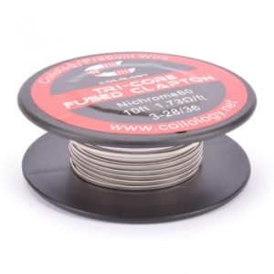 Coilology-Tri-Core-Fused-Clapton-Nichrome-Spule-10ft-300x300 Coilology - Tri-Core Fused Clapton Nichrome Spule (10ft) 3-28/36