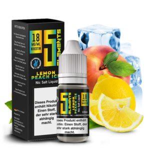 5Elements-Lemon-Peach-Ice-18-mg-Nic-Salt-10-ml-1-300x300 5Elements - Lemon Peach Ice - 18 mg/ml - Nic Salt - 10 ml