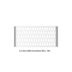 Siegfried-grid-mesh-1-300x300 VapeFly - Siegfried RTA Ni80 Grid Mesh M4 0.18 Ohm