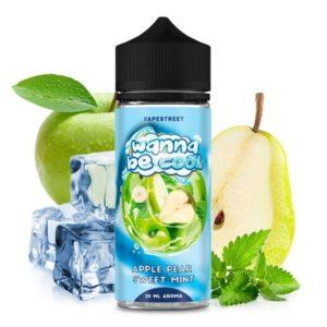 WANNA-BE-COOL-Apple-Pear-Sweet-Mint-1-300x300 WANNA BE COOL - Apple Pear Sweet Mint - 20 ml Aroma
