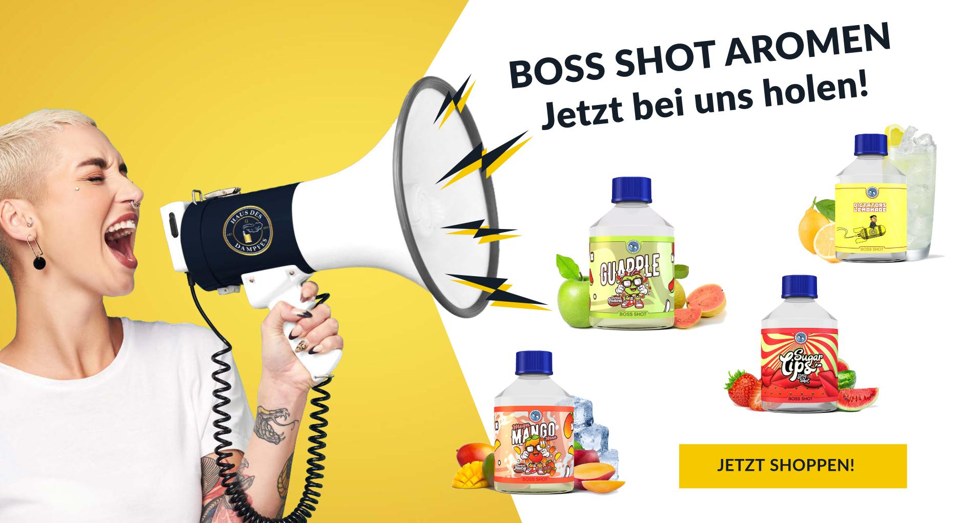 Boss-Shot-Aromen-bei-uns Haus des Dampfes - E-zigaretten, Liquids & Zubehör Onlineshop