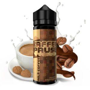 kaffeepause-by-steamshots-aroma-milk-coffee-20-300x300 KAFFEEPAUSE by Steamshots - Milk Coffee - 20 ml Aroma